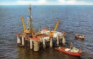 Staflo Torpedo, floating drilling platform